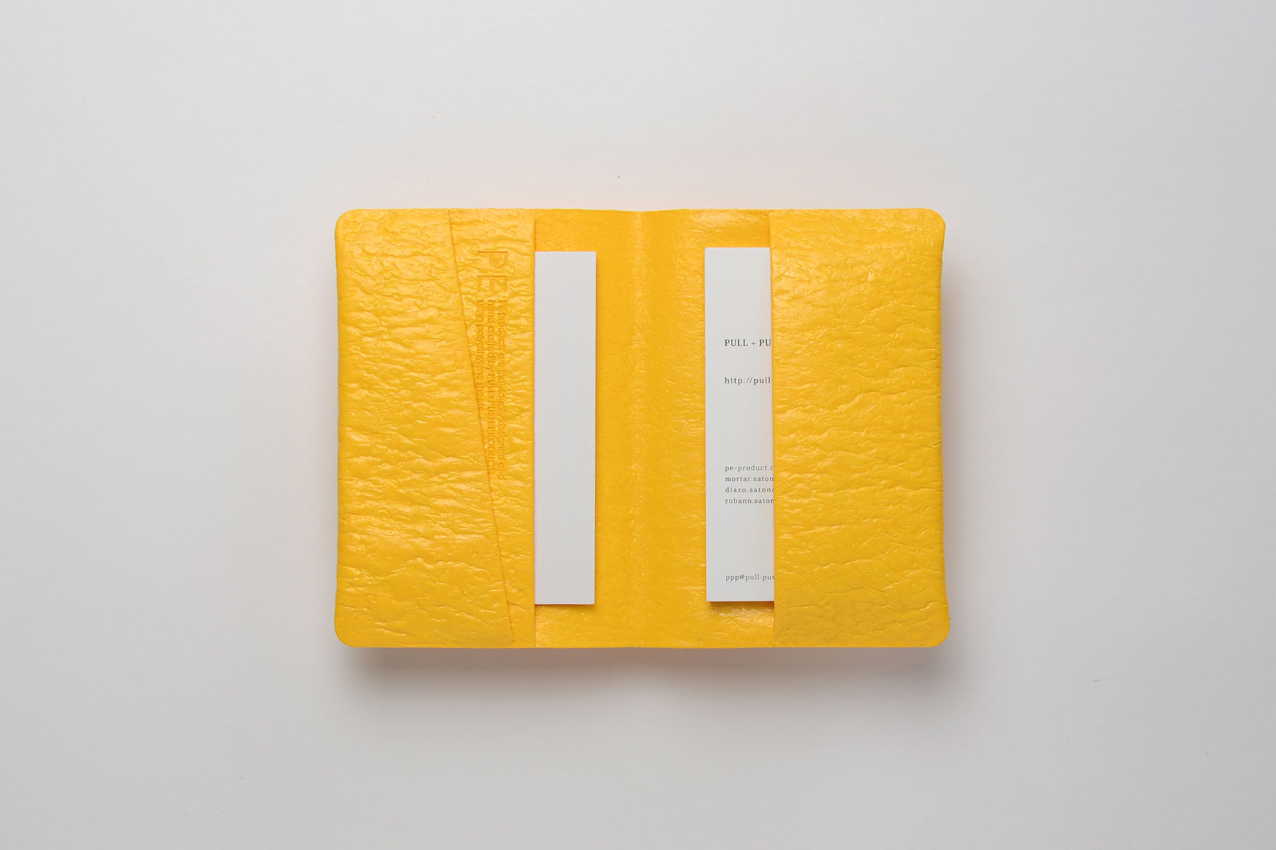 PE CARD CASE [Yellow]