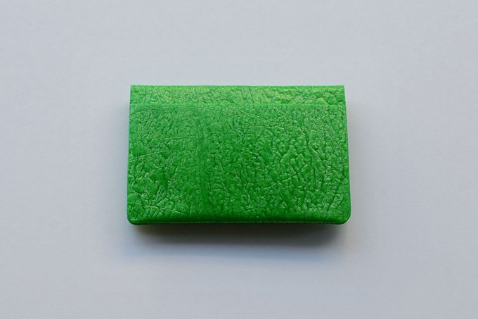 PE CARD CASE / Yellow green