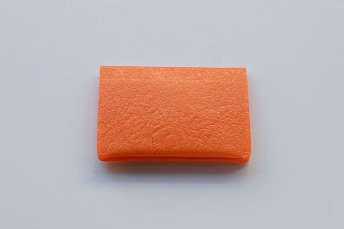 PE CARD CASE / Light orange