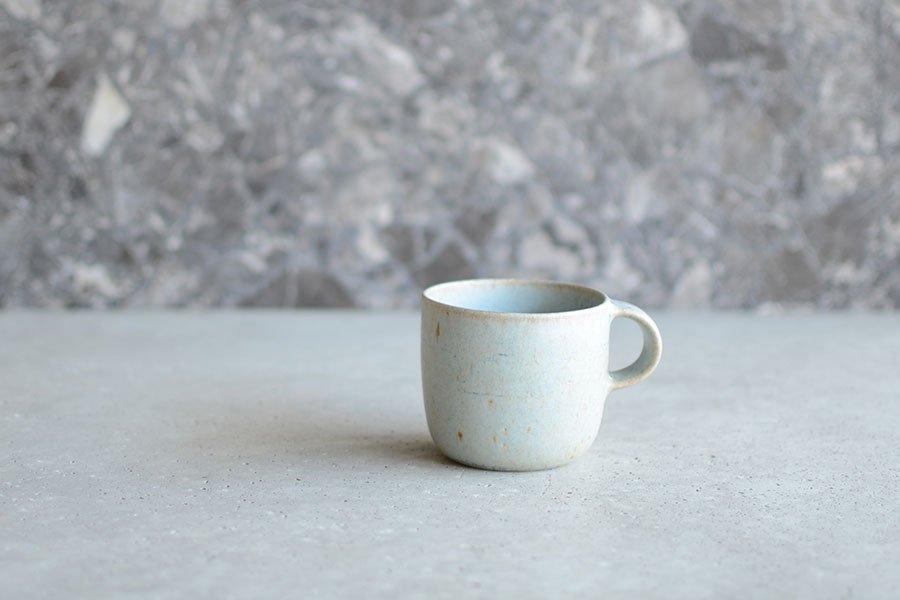 寺嶋綾子 マグカップ [小] / 青_01
