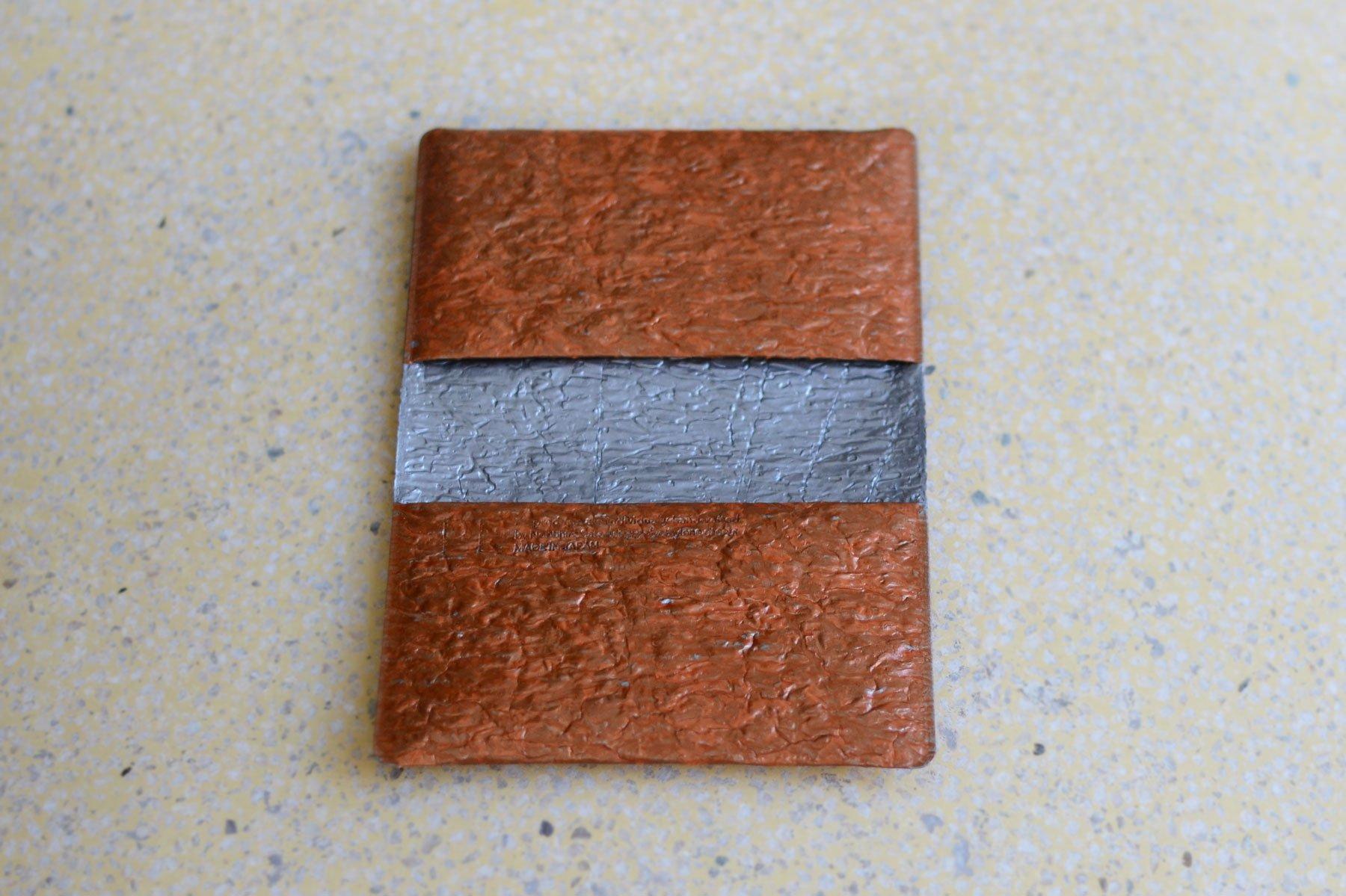 PE FOLDING CARD CASE [Bronze]