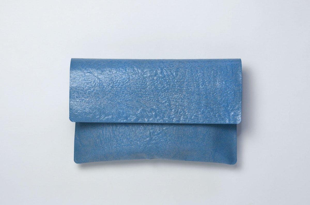 PE FLAP CASE [Smoke blue]