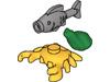 海・水辺の動物