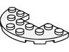 プレート3×6丸中央カットアウト(#18646)