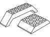 スロープ45度6×4両側傾斜(#32083)・スロープ45度10×10×2ダブル(#30180)