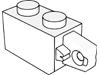 ヒンジブリック1×2ロック(端に指1本)