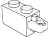 ヒンジブリック1×2ロック(端に水平指1本)