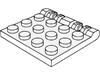 ヒンジプレート3×4ロック側面に指2本(#44570)
