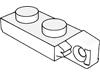 ヒンジプレート1×2ロック(端に指1本)