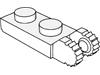 ヒンジプレート1×2ロック(端に指2本)