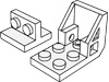 ブラケット2×2-1×2(#41682)・ブラケット3×2-2×2スペースシート(#4598)