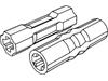 テクニック車軸コネクター3L(#26287)・ドライビングリングコネクター(#18948)