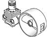 テクニックエンジンシリンダー(#2850b)・エンジンピストン(#2851)・シリンダー4×4(#41531)