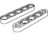 テクニックリフトアーム1×5-細身(#32017)・1×5両端車軸穴-細身(#11478)