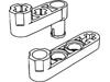 テクニックリフトアーム1×3ペグ付クランク(#33299)・1×4スタッド付-細身(#2825)