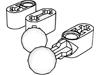テクニックリフトアーム1×2-ペグ穴・車軸穴有(#60483)・その他
