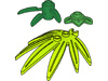 竹(#30176)・3枚葉(#32607)・7枚葉(#10884)・その他の葉っぱ