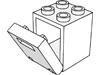 コンテナボックス2×2×2(#4345)・コンテナドア2×2×2(#4346)