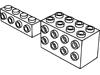 ブリック1×4側面にスタッド有(#30414)・2×4×2側面にスタッド有(#2434)