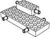 ブリック2×4側面にペグ2個(#6249)・4×10側面にペグ4個(#30076)