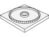 ターンテーブル4×4ベースロック(#61485)