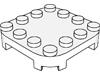 プレート4×4コーナー丸-足付き(#66792)・6×6コーナー丸-足付き(#66789)・8×8コーナー丸-足付き(#66790)