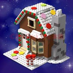 お菓子の家(説明書ダウンロード形式)