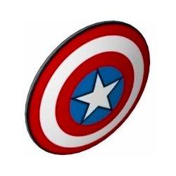 盾ラウンド(キャプテン・アメリカ) ダークブルーイッシュグレイ