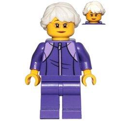 トレーニングウェアのおばあさん(#60234)