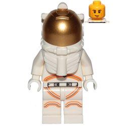 宇宙飛行士の男性-ホワイトスペーススーツ(#60224)