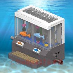 水族館:海の魚たち(説明書ダウンロード形式)
