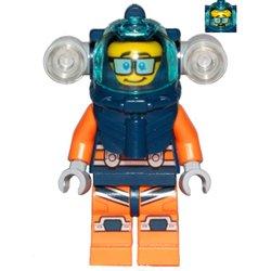 深海ダイバーの男性(#60264)
