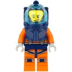深海ダイバーの男性(#60265)