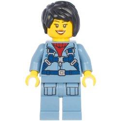 オーシャンサブマリンパイロットの女性(#60266)