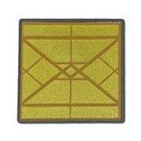 標識正方形(ダイアモンドゴールド) ダークブルーイッシュグレイ