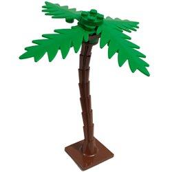 ヤシの木(ヤシの葉付き) レディシュブラウン