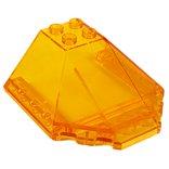ウインドスクリーン6×6×2キャノピー トランスオレンジ