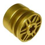 ホイール長径18ミリ・幅14ミリ(車軸穴有) メタリックゴールド
