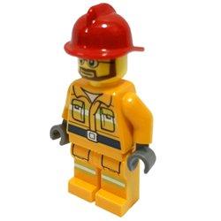 消防士の男性(オリジナル限定ミニフィグ)