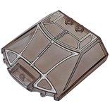 ウインドスクリーン6×6×1-1/3(ブラックパンサードラゴン・フライヤー) トランスブラック