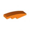 曲面スロープ4×1 オレンジ