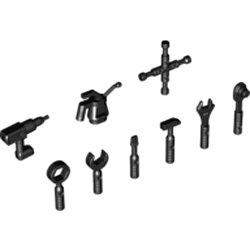 新型工具9点セット ブラック