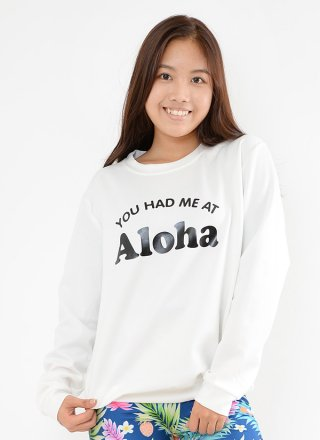 You had me at Aloha スウェット / 3color