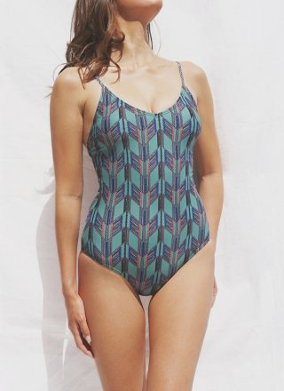 HELLO WEEKEND - Lace Up One Piece/Mayowa
