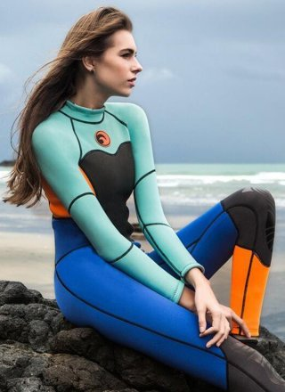 <img class='new_mark_img1' src='https://img.shop-pro.jp/img/new/icons14.gif' style='border:none;display:inline;margin:0px;padding:0px;width:auto;' />Hisea 1.5mm Neoprene Wetsuit/Blue Orange