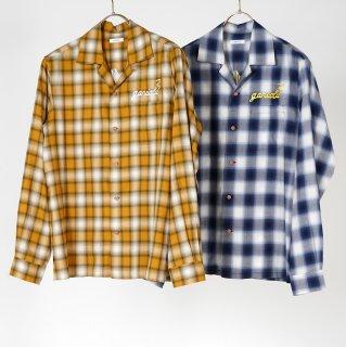 l/s open collar shirts