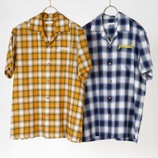 s/s open collar shirts