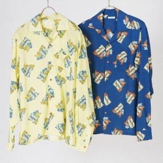 l/s aloha shirts