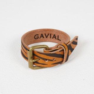 "leather bracelet single""tiger"""