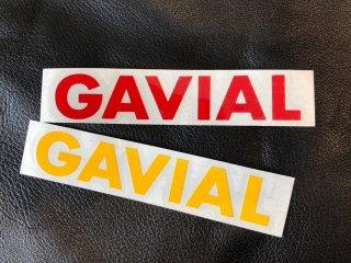 """cutting sticker  """"GAVIAL""""_R/Y"""
